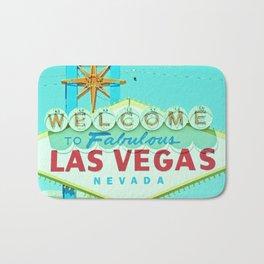 Vintage Vegas Sign - Las Vegas Sign Bath Mat