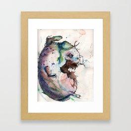 Smokebaby Framed Art Print
