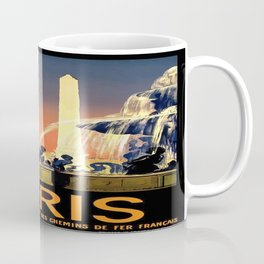 Vintage poster - Paris Coffee Mug