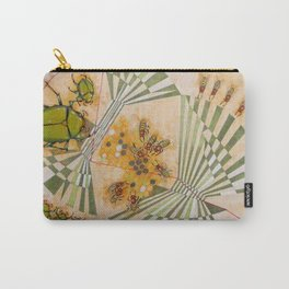 Beetles and bees Carry-All Pouch