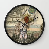 atlas Wall Clocks featuring Atlas by DIVIDUS