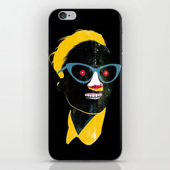 Smile in black iPhone & iPod Skin