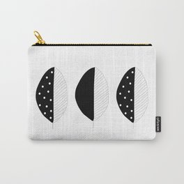 abstract leaf pattern Carry-All Pouch