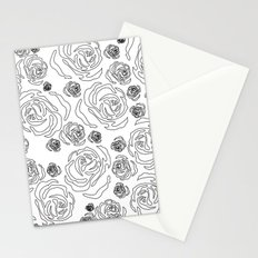 rose repeat Stationery Cards