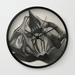 Water Chestnut Seed Wall Clock