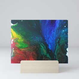 Rainbow Juxtaposition Mini Art Print