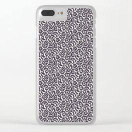 Seamless vector pattern. Clear iPhone Case
