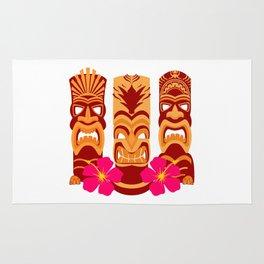 Tiki Statues Set Rug