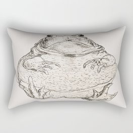 Draw Me Like One Of Your French Frogs Rectangular Pillow