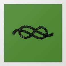 Common Rope Logo Canvas Print