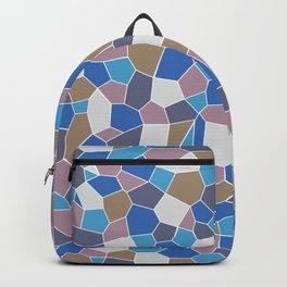 Mosaic Pattern Backpack