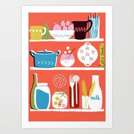 Let's Cook! Art Print