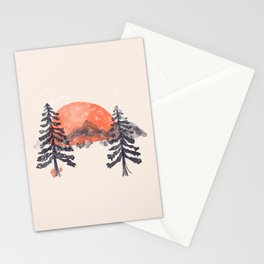First Snow... Stationery Cards