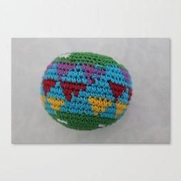 Colored fabric Canvas Print