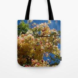 Wilhelmina Tenney Rainbow Shower Tree Tote Bag