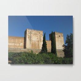 A Castle in Spain Metal Print