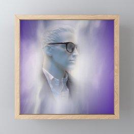 in a showcase Framed Mini Art Print