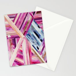 LINEA 019 Abstract Collage Stationery Cards
