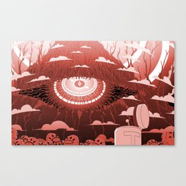 The One Eye Canvas Print