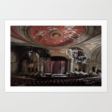 Paramount Theater Art Print