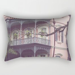 Uptown New Orleans Rectangular Pillow