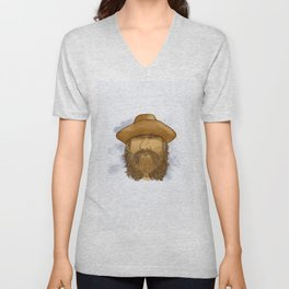 Flynt Locke, Cowboy Mountain Man Unisex V-Neck