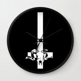 SAINT PETER SUCKS Wall Clock