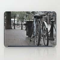 bicycles iPad Cases featuring Bicycles by Nick Nieu