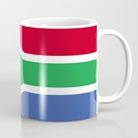 south africa Mugs featuring South Africa Flag (1994) by D.A.S.E. 3