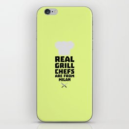 Real Grill Chefs are from Milan T-Shirt Dua46 iPhone Skin