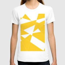 yellow diamond T-shirt