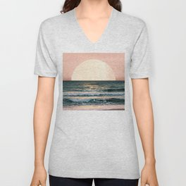 Summer Sunset Unisex V-Neck