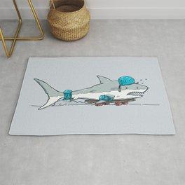 The Shark Skater Rug