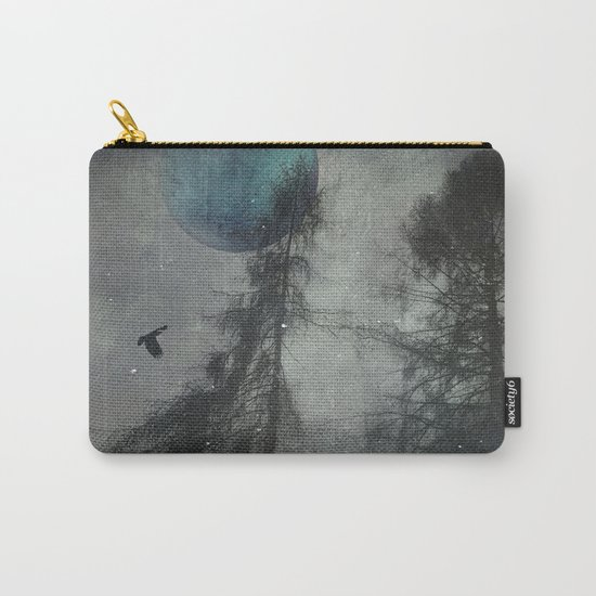 Blue mOOn wilDerness Carry-All Pouch