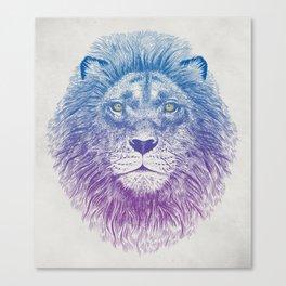 Face of a Lion Canvas Print