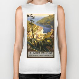La Riviera italienne, Portofino près de S.Margherita et Rapallo Biker Tank