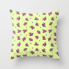 Spyro and Sparks Throw Pillow