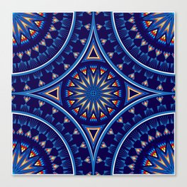 Blue Fire Keepers Canvas Print