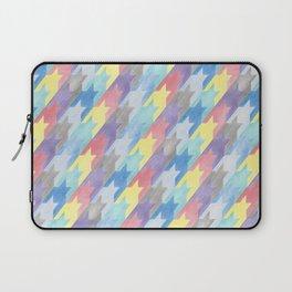 Multicoloured Houndstooth Laptop Sleeve