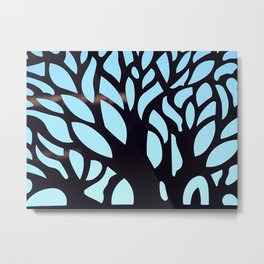 Wandering Branches Metal Print