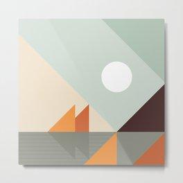 Geometric Landscape 24 Metal Print