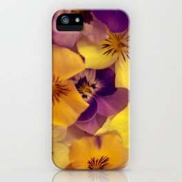 Viola bed. iPhone Case