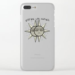Between The Suns Clear iPhone Case