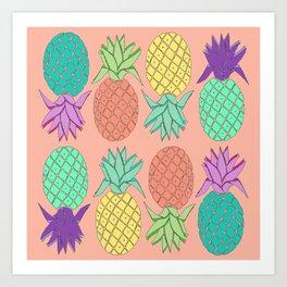 pineapple Art Print