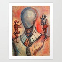 Robot Lover Art Print