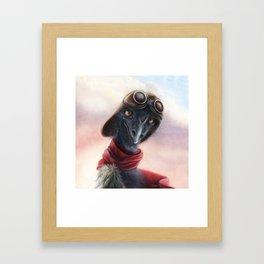 Queen Bess Emu Framed Art Print