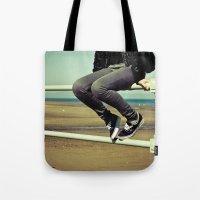 vans Tote Bags featuring Vans by Zsolt Kudar