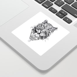 Amur Leopard Sticker