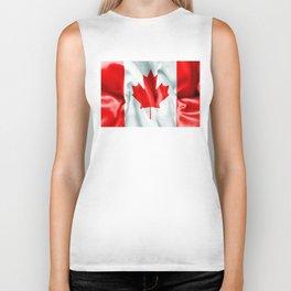 Canada Flag Biker Tank