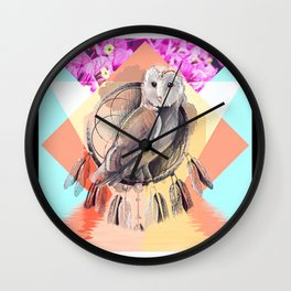 DON'T BE AFRAID TO GET YOUR FEATHERS WET Wall Clock